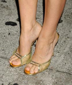 Alicia Silverstone's feet