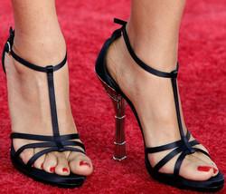 Salma Hayek's feet