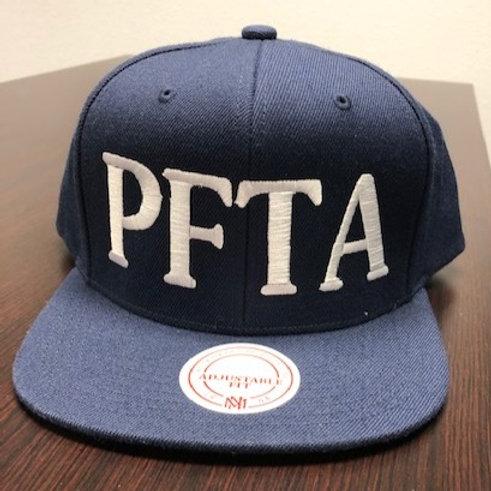 NAVY BLUE SNAPBACK HAT