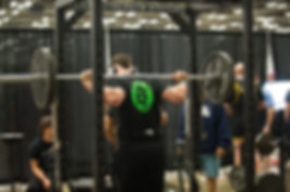 Warming up for my first lifting meet