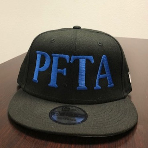BLACK &  BLUE SNAPBACK HAT