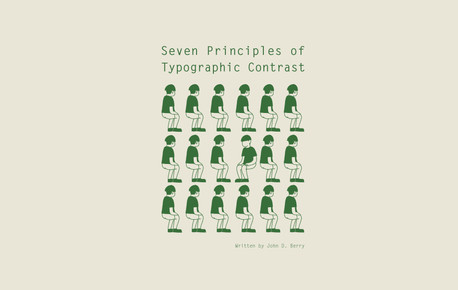 Seven Principles of Typographic Contrast