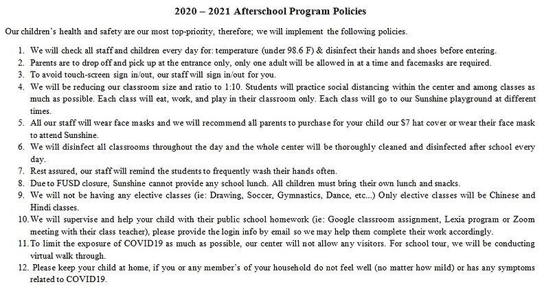 2020-2021 Afterschool Program Policies.j