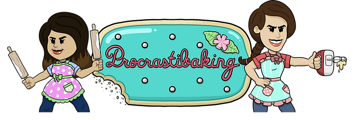 Procrastibaking Website Banner Transpare