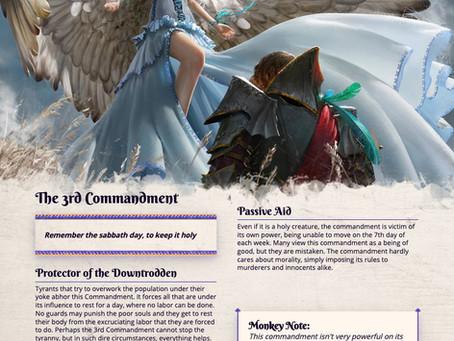 D&D 5e Monster - The 3rd Commandment - Bring Eternal Rest to those Poor Unfortunate Souls