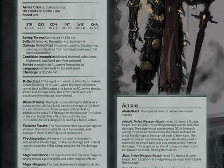Monster - Royal Incinerator