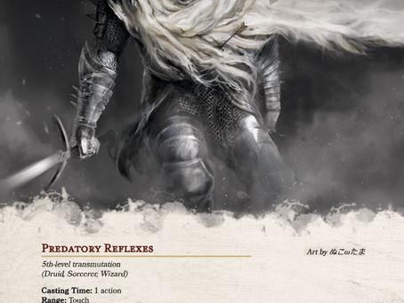 Predatory Instinct - New Spell for D&D 5e
