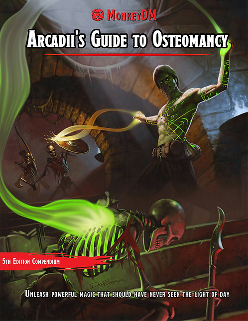 Arcadii's Guide to Osteomancy