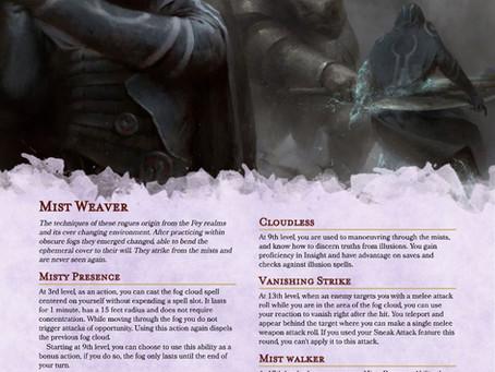 Rogue - Mist Weaver