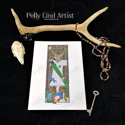 Horned Lord Stang Print