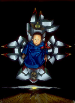 Baby Enthroned