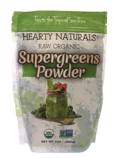 Supergreen Powders-Raw Organic