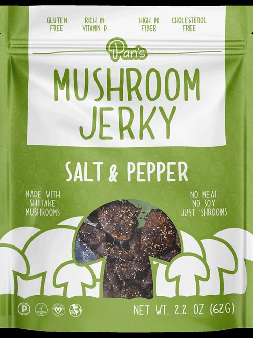 Mushroom Jerky - Sea Salt & Pepper