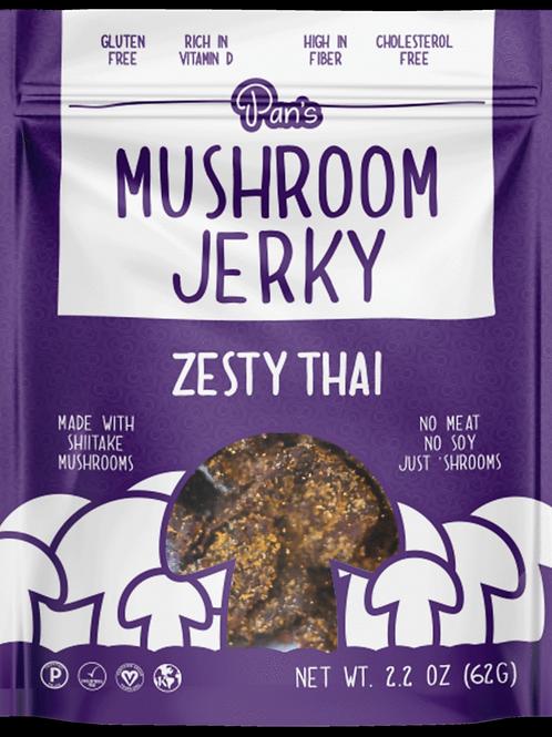 Zesty Thai-Mushroom Jerky
