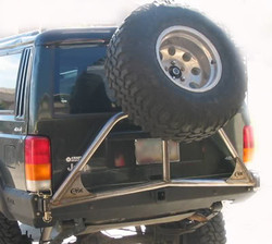C-ROK Tire Carrier and Bumper