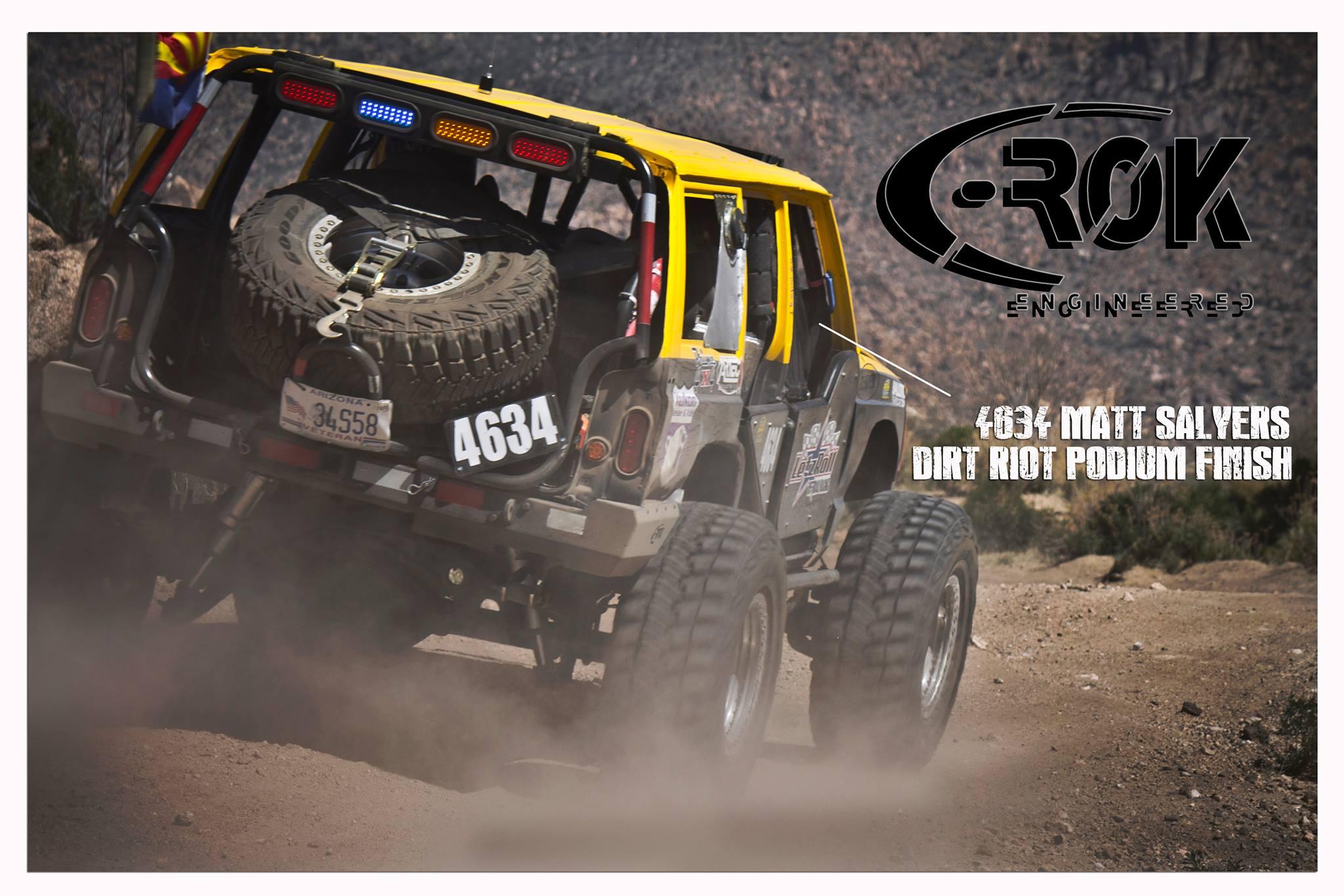 C-ROK Sponsored - Matt Salyers