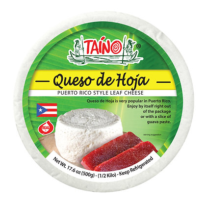 TAINO - QUESO DE HOJA HALF-KILO