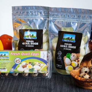 Leblon Foods Inc. - Windy Ridge Quail Eggs