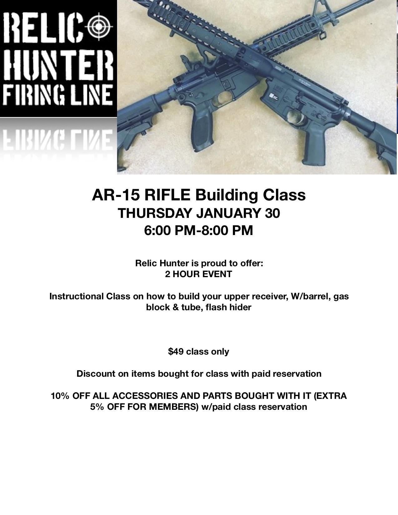 AR15 class flyer upper