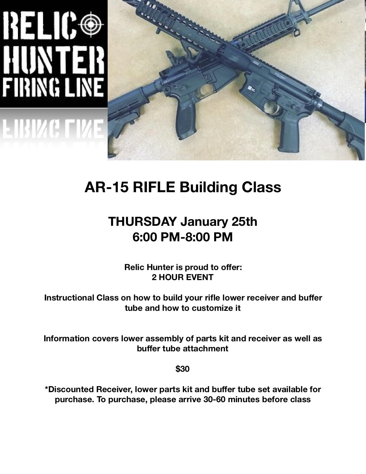 AR15 class flyer