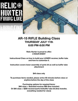 AR15 class flyer lower
