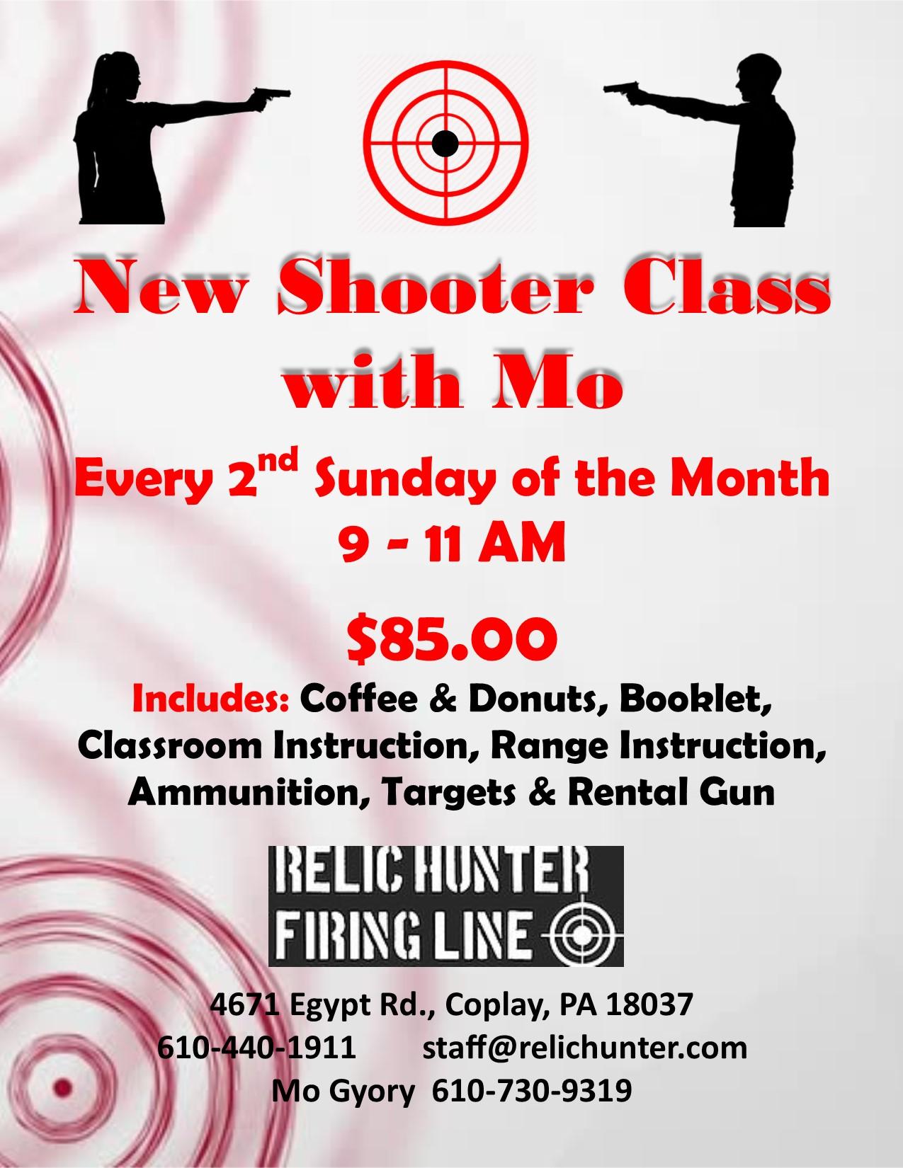 new shooter class