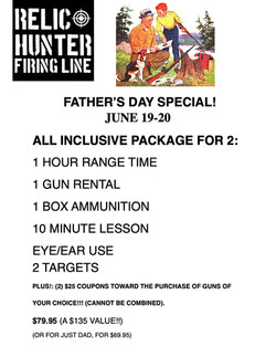 FATHERS DAY PACKAGE 2021