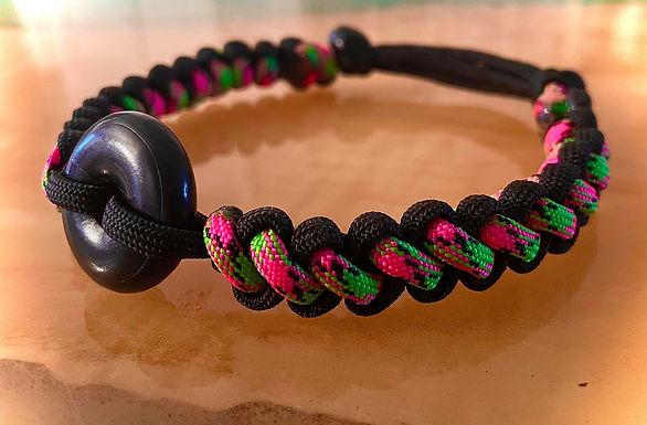 "Sliding-Knots Shungite Collar 11-13"""
