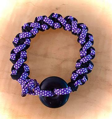 Helix Shungite Bracelet 7 inces