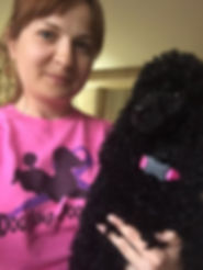 Black Poodle Love