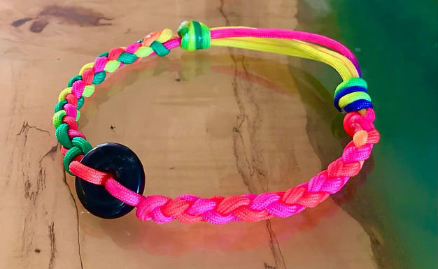 Sliding-Knots Shungite Collar 14-17 inches