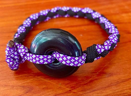 Twisted Shungite Bracelet 7 inches