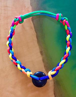 "M(13-16"") Sliding-Knots Shungite Collar"