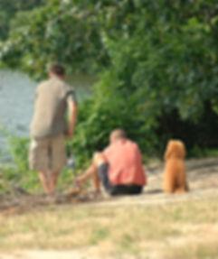poodle fishing companion
