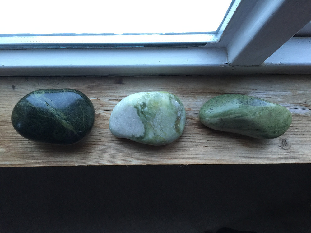 Greenstone, Iona Marble and Lewisian Gneiss found on Iona
