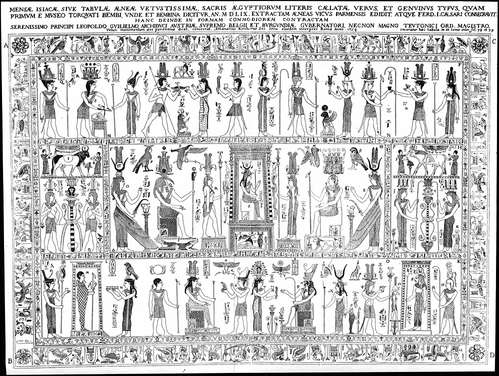 The Bembine Tablet of Isis