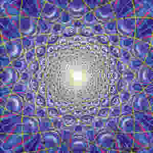 """Alex Gray painting """"Collective Vision"""". Copyright by Alex Gray."""