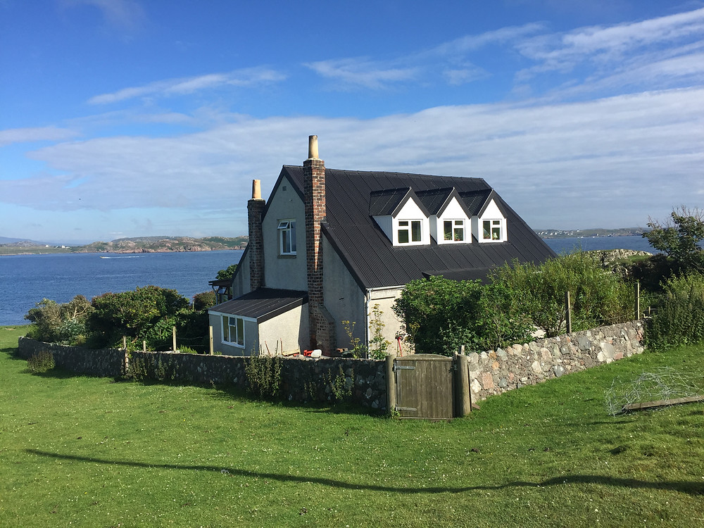 Traigh Bhan, the Findhorn Foundation retreat house on Iona