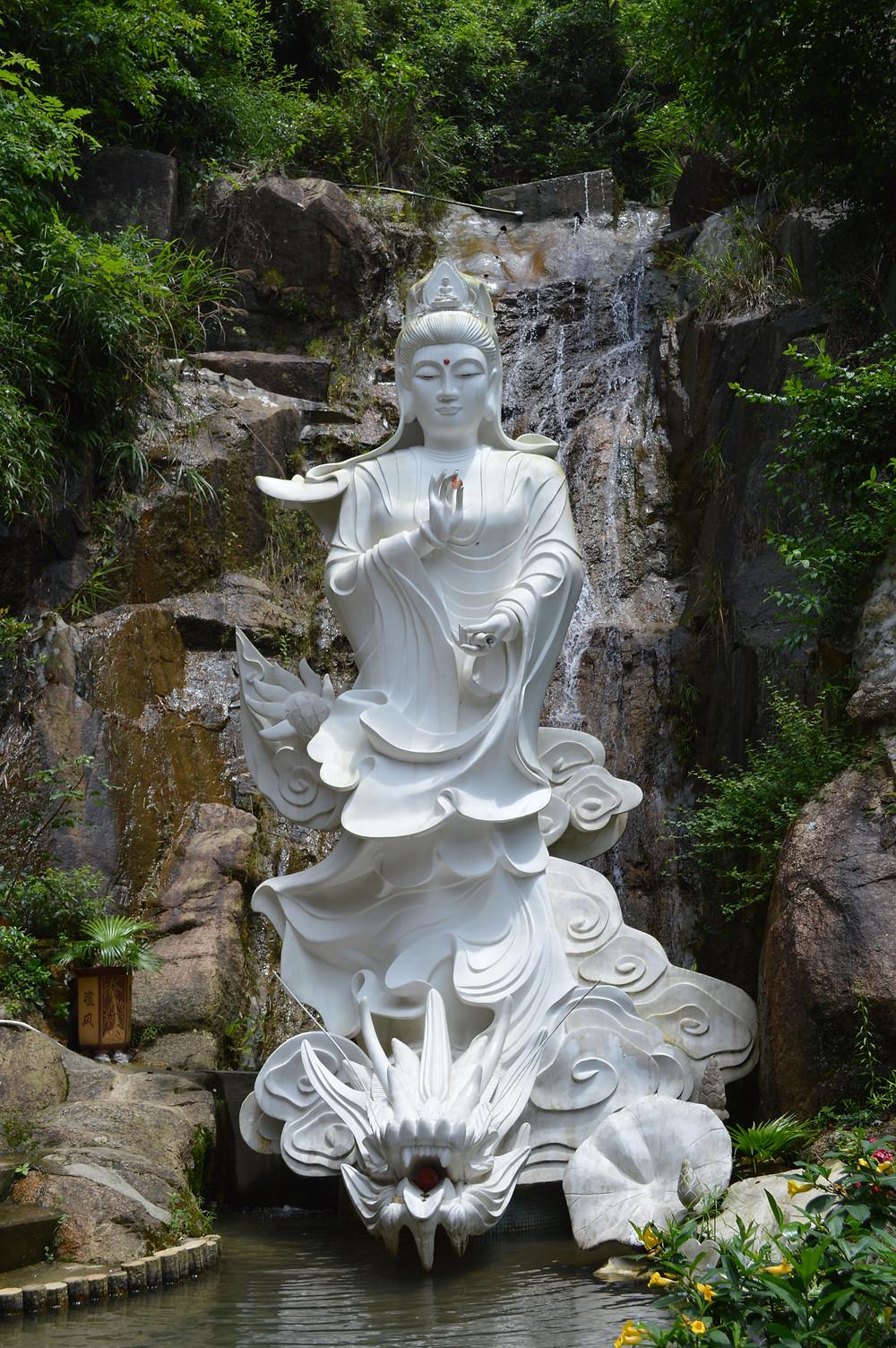 Kuan Yin at the 10000 Buddhas Monastery