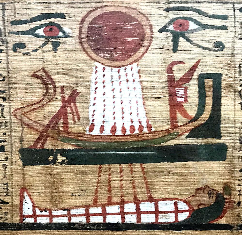 Eye of Horus and Eye or Ra