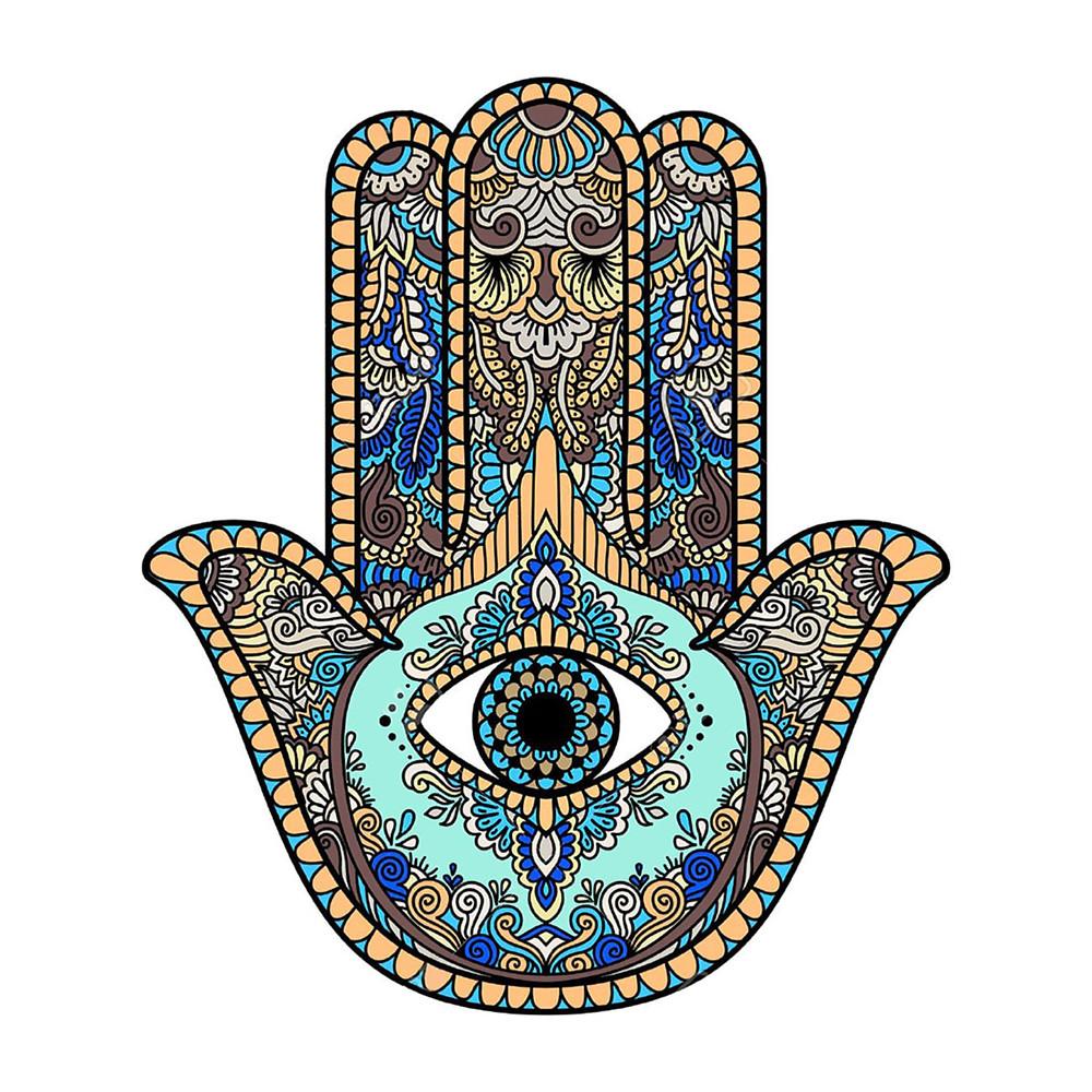 Hamsa, Hand of God with the Eye of God
