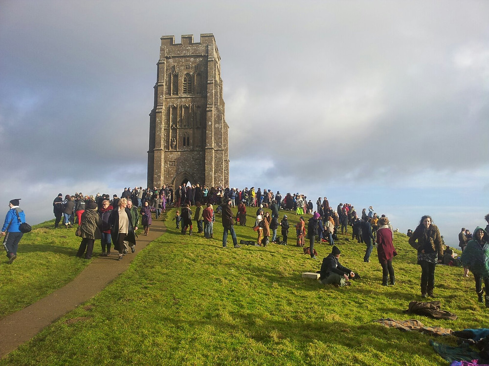Glastonbury Tor 21st December 2012 about 11am