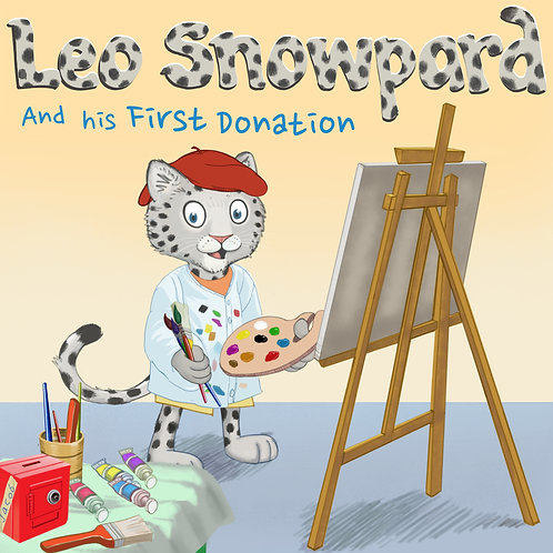 Leo Snowpard and His First Donation