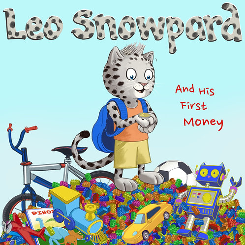Leo Snowpard and His First Money