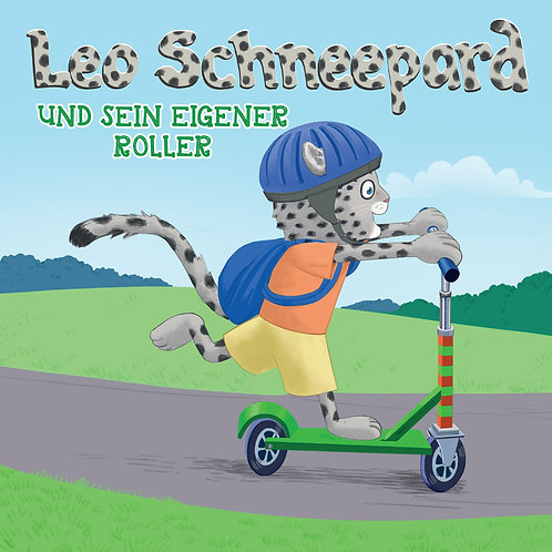 Leo Schneepard und sein eigener Roller