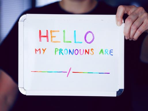 Understanding Sex, Gender, and Pronouns