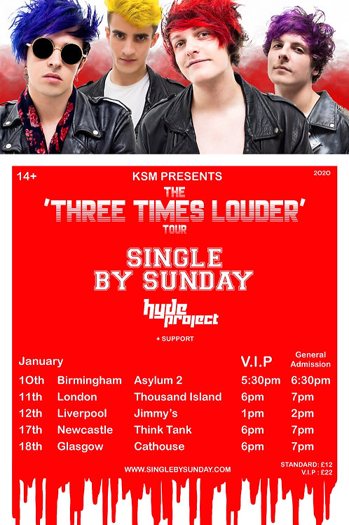 The 'Three Times Louder' Tour