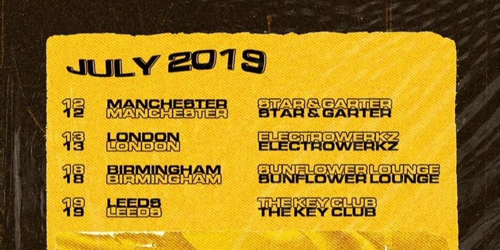 Shaded + Hey Charlie - Birmingham