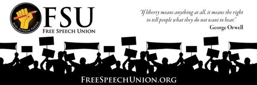 'Free Speech Union Member' - 'The Black Dog Sound Machine'