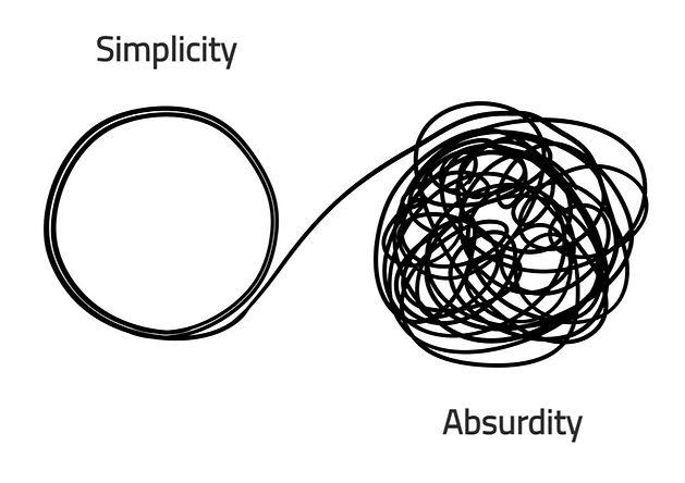 Simplicity & Absurdity...